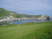 Anchoring overnight in Lulworth Cove