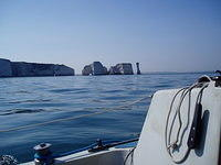 Old Harry Rocks outside Poole